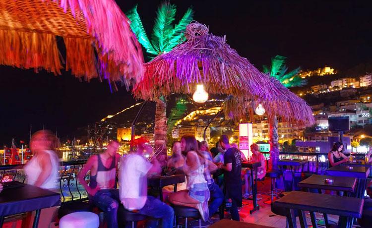 Alanya'da Gece Hayatı En iyi 5 Club