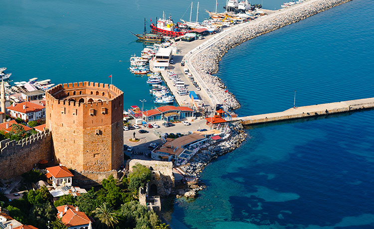 Antalya'nın Turizm Cenneti Alanya