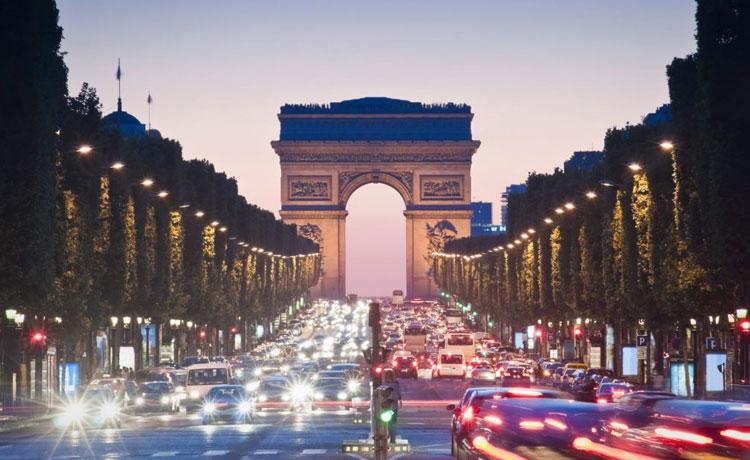 Romantik Paris / Fransa