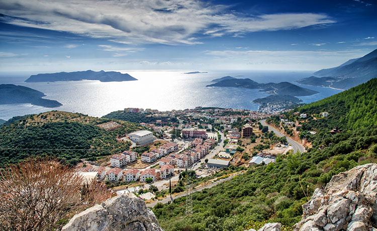 Tutkuyla Bağlandığımız Antalya Kaş