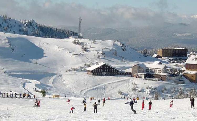 Kartalkaya Kayak Merkezi Ulaşım Detayları